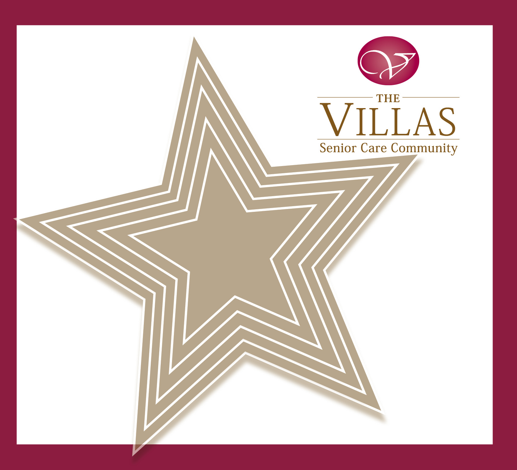 Five Star Rating for The Villas.