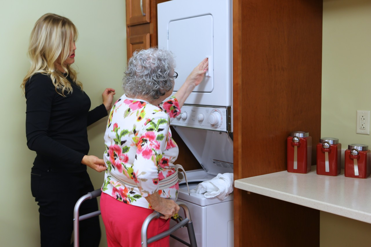 occupational therapy at the villas senior care community